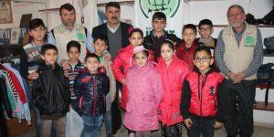 Kızıltepe Umut Kervanı 50 çocuğu sevindirdi
