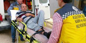 Kızıltepe Belediyesi hasta nakil ambulansı çalışmaya devam ediyor