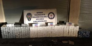 20 bin paket gümrük kaçağı sigara ele geçirildi