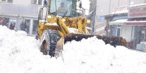 Snowfall in Turkiye's Bitlis: 174-village roads closed
