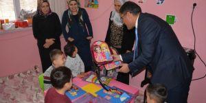 Batman Kozluk'ta gezici okul öncesi öğrencileri karnelerini aldı