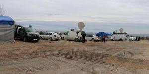 Afrin operasyonunu çok sayıda basın mensubu takip ediyor