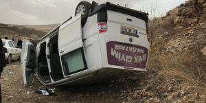 Düğün konvoyunda kaza: 6 yaralı