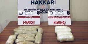 Yüksekova'da uyuşturucu operasyonu: 3 gözaltı