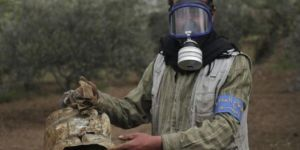 """İdlib'de """"zehirli gaz kullanıldı"""" iddiası"""