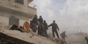 Doğu Guta'ya hava saldırıları: 51 kişi hayatını kaybetti