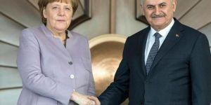 Başbakan Yıldırım Merkel ile görüşecek