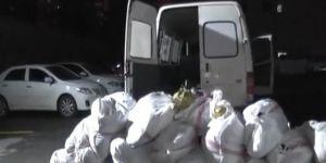 Çınar'da minibüste 500 kilo esrar ele geçirildi