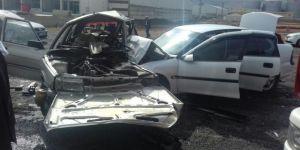 Şanlıurfa'da korkutan kaza: 5 yaralı