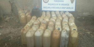 Hakkâri'de 3 bin litre gümrük kaçağı akaryakıt ele geçirildi