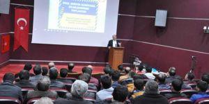 Öğrenci servis şoförlerine yönelik 'Bilgilendirme Toplantısı' düzenlendi