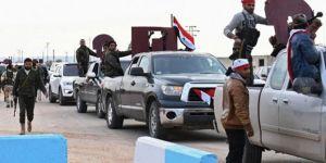 Suriye hükümeti yanlısı güçler Afrin'de