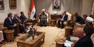 İslam karşıtı Alman vekiller Şam'a gitti