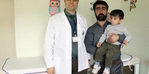 Küçük çocuğun akciğerinden kabak çekirdeği çıktı