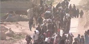 Doğu Guta'dan 100 bini aşkın kişi tahliye edildi