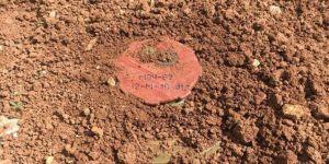 Cinderes'te EYP ve anti tank mayını imha edildi