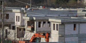 Sur'da Diyarbakır evlerinin inşası sürüyor