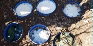 PKK'ye ait sığınaklarda ele geçirilen bir ton patlayıcı imha edildi