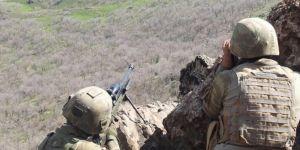 Diyarbakır Kulp'ta biri yeşil renkli kod listesinde aranan 2 PKK'li öldürüldü
