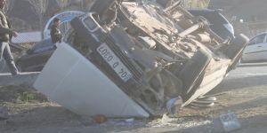 Doğubayazıt'ta trafik kazası: 4 yaralı