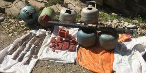 Hakkari'de hava savunma füzesi ele geçirildi