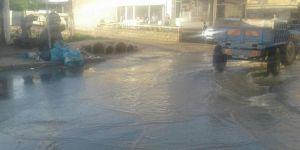 Diyarbakır'da aniden etkili olan yağmur hayatı olumsuz etkiledi