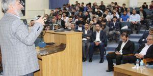 """Rehber Öğrenci Topluluğu'ndan """"Yusuf'un Üç Gömleği"""" konferansı"""