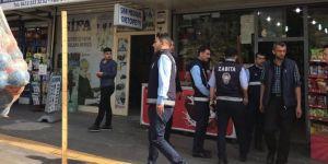 Diyarbakır'da kaldırımı işgal eden esnafa cezai işlem uyarısı