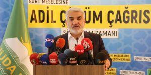 We are ready for the election: HUDA PAR President Yapıcıoğlu
