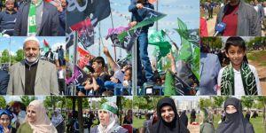 """""""Bizim kurtuluşumuz Hazreti Muhammed iledir"""""""