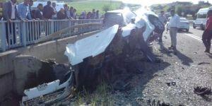 Diyarbakır'da kaza: 3 ölü