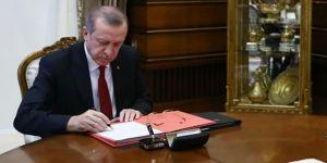 Cumhurbaşkanı Erdoğan'dan kanun onayları