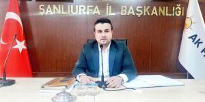 AK Parti Şanlıurfa İl Başkanı Bahattin Yıldız oldu