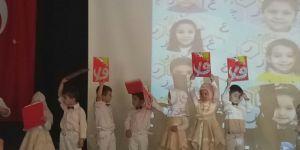 Yarım Elma Çocuk Kulübünün mezuniyet töreni düzenlendi
