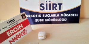 Siirt Baykan'da cips paketinden uyuşturucu çıktı