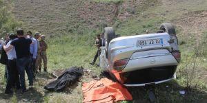 Diyarbakır Bismil'de trafik kazası: 2 ölü