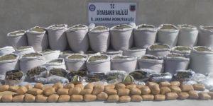 Diyarbakır'da yaklaşık 3 milyon insanı zehirleyecek uyuşturucu ele geçirildi