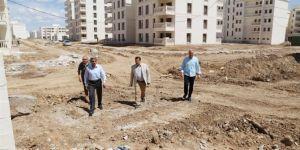 Mardin'deki okul inşaatlarına inceleme