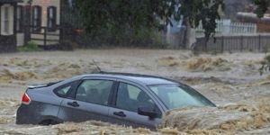 ABD'de yağışlar sele neden oldu