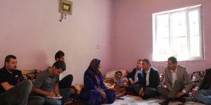 Baro başkanları Şemdinli'de yaşanan vakayı yerinde inceledi