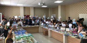 Bismil'de karneyi getir kitabını götür kampanyası