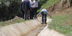 Güzel Konak Modern Sulama Kanalına Kavuştu