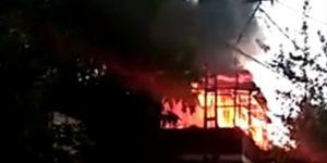 Diyarbakır Bağlar'da çocukların torpil eğlencesi yangına dönüştü