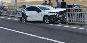 Diyarbakır'da Fidanlık Piknik Alanı civarında kaza: 2 yaralı