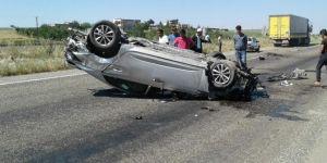 Diyarbakır'da kaza: Bir yaralı