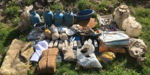 Van Erciş'te 4 sığınak tespit edildi