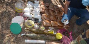 Mardin Mazıdağı'nda toprağa gömülü vaziyette patlayıcı bulundu
