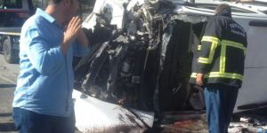 Bitlis Tatvan'da kaza: 2'si ağır 8 yaralı