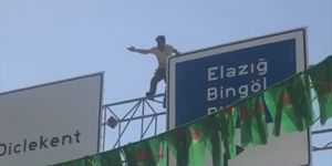 Diyarbakır Tesisler mevkiinde intihar girişimi