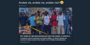 İtalya'da yabancılara defol git demek ırkçılık sayıldı